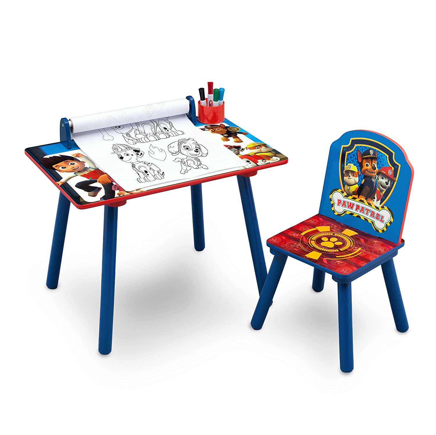 Disney Cars Activity Desk and Chair With Paper Roll