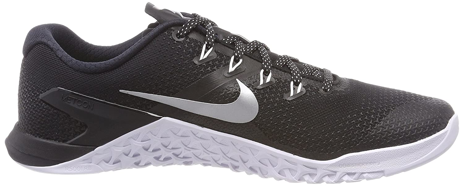 NIKE Women Metcon B071ZF6NVW 4 Training Shoe Grey B071ZF6NVW Metcon 9 B(M) US|Black/Metallic Silver-white-volt Glow a32d67