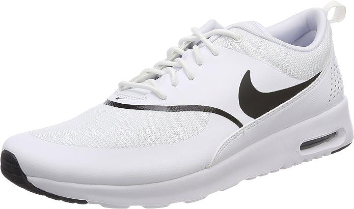 Nike Air Max Thea Sneakers Damen Weiß mit schwarzen Streifen