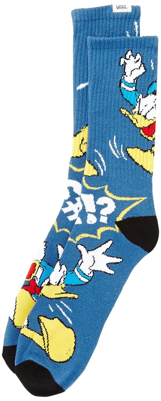 Vans Donald Duck Crew (9.5-13, 1Pk) - Calcetines para Hombre, Talla única: Amazon.es: Deportes y aire libre