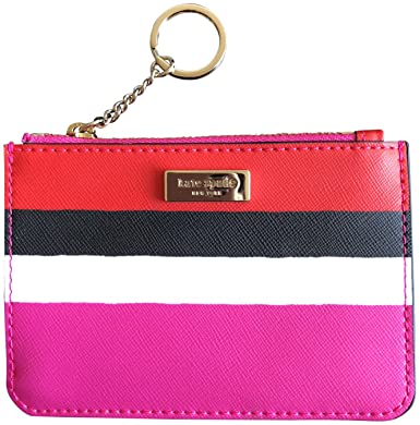 the best attitude a839e befd7 Kate Spade Laurel Way Bitsy Coin Purse Credit Card Wallet Keychain, Island  Waters