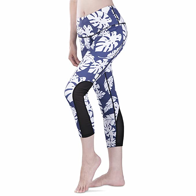 CHICMODA Yoga Leggings Sport Gym Pants Workout with Pockets High Waist for Women
