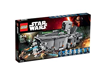 LEGO Star Wars Construction Transporter dp BSDTTIQC