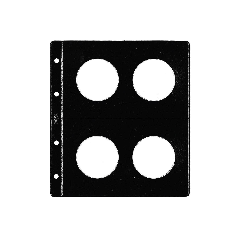 Pardo 66900 Pack de 12 fundas monedas tipo claraboya 4 alojadores
