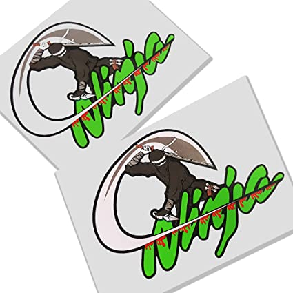 Kawasaki Ninja Cortes Warrior gr?N propia Gráficos Pegatinas ...