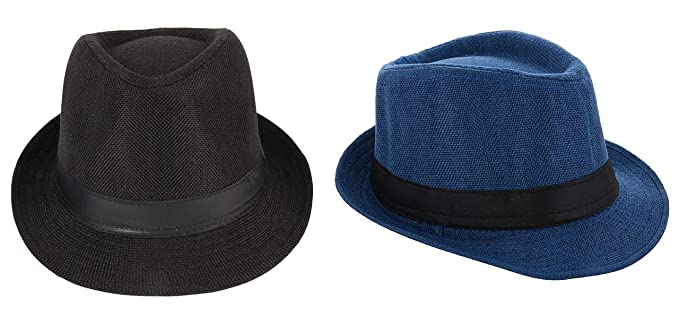 7e22ed9d2bd Image Unavailable. Image not available for. Colour  Zacharias Men s Fedora Round  Hat ...