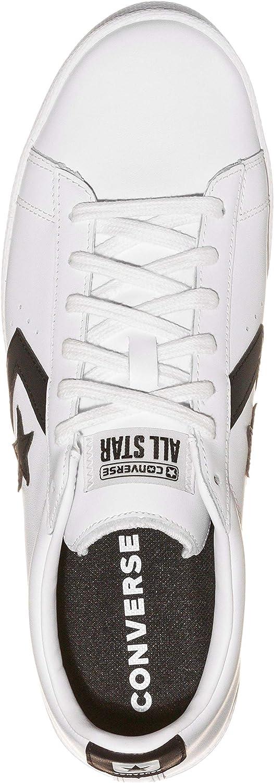 Gran Descuento En Venta Lo Mas Barato CONVERSE UOMO Sneakers Pro Leather Ox Bianco/Nero Mod. 167237C Blanco Negro wVdAKk Hrl6UB 5l5UU5