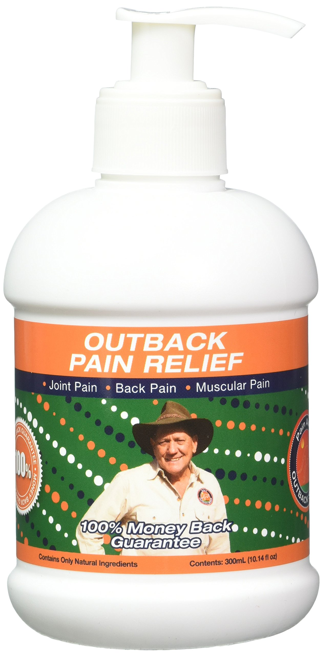 Outback All-Natural Pain Relief – 300mL Pump Bottle – Topical Oil