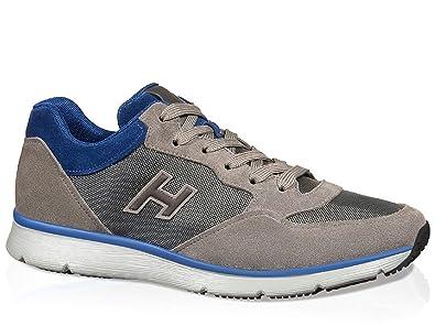Hogan À Panneaux Chaussures Sportives - Gris ecwZHuL1ED