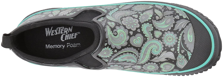 Western Chief Women's Neoprene Step 10 in Rain Shoe B01N34JH44 10 Step B(M) US|Whimsical Paisley 7af310