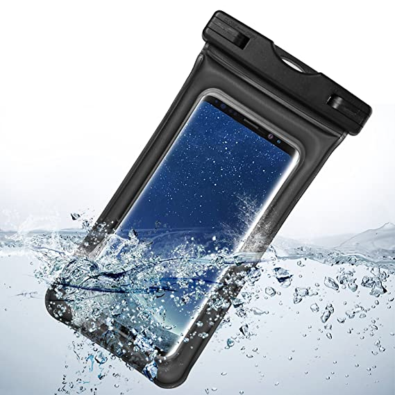 best authentic e3117 2b186 Universal Airbag Dry Bag Waterproof Case Armband for Samsung Galaxy  S9+/S9/S8+/S8/Note 8/Blackberry Motion/KEYone/Huawei P20/P20 Pro (Black)