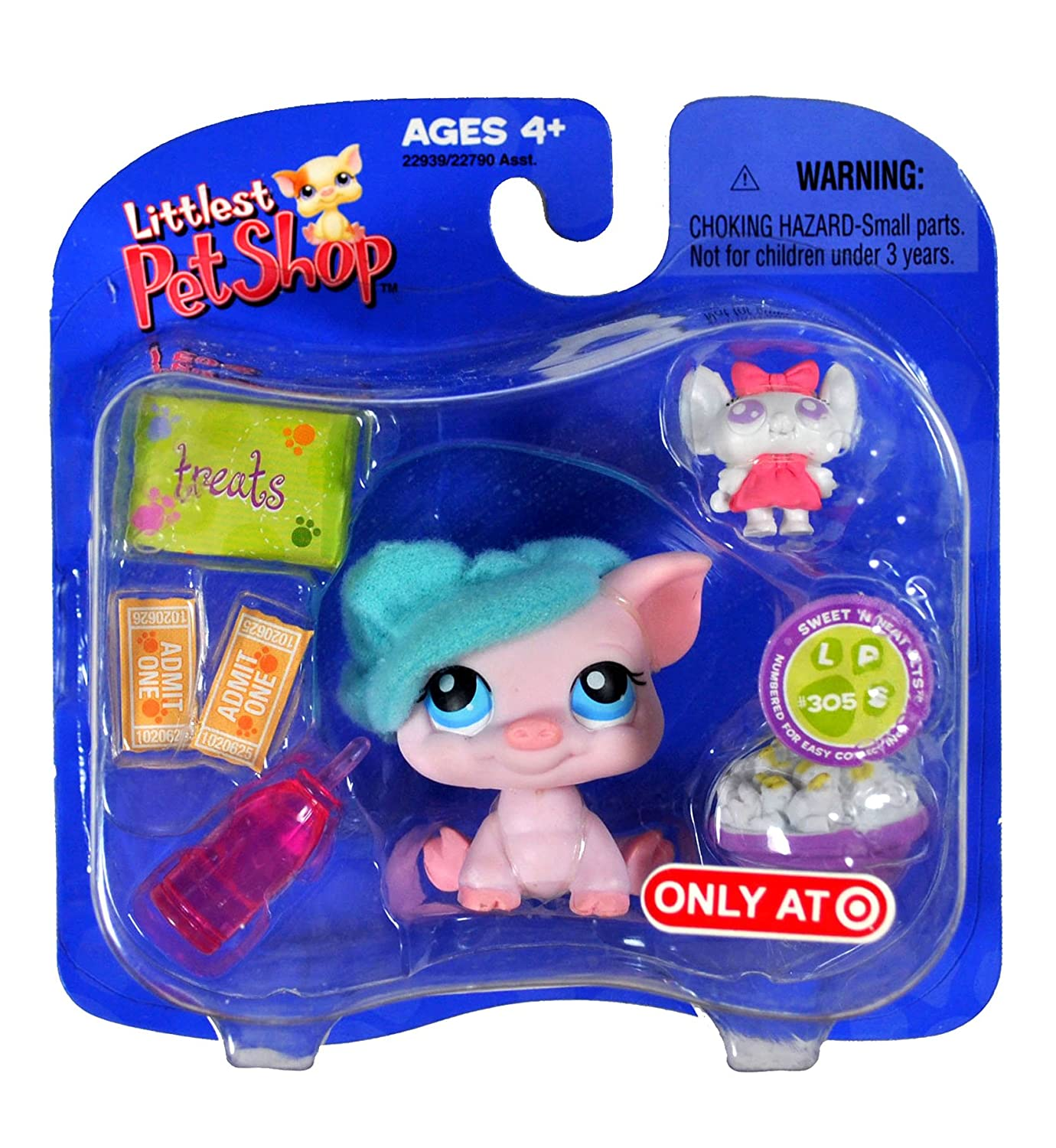 Hasbro Year Exclusive 2006 Littlest Pet Shop with Exclusive Single Pack