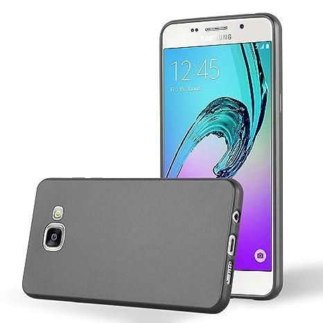 Cadorabo - Carcasa de Silicona para Samsung Galaxy A5 2016 (6) en Gris metálico