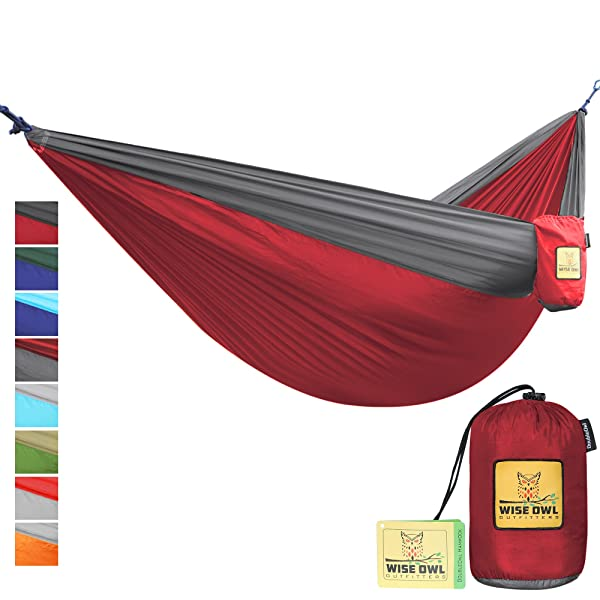 The Ultimate Single & Double Camping Hammocks- The Best Quality Camp Gear For Backpacking Camping Survival & Travel