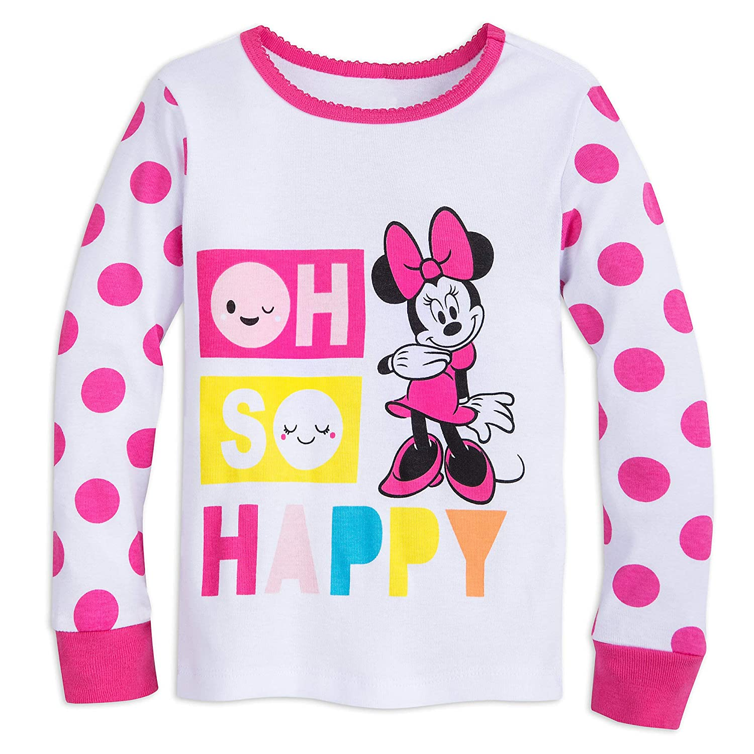 Disney Minnie Mouse Oh So Happy PJ PALS for Girls Multi