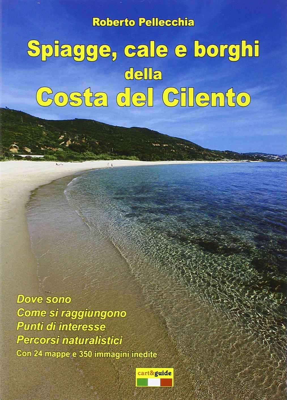 Cilento Cartina Geografica.Amazon It Spiagge Cale E Borghi Della Costa Del Cilento Pellecchia Roberto Libri