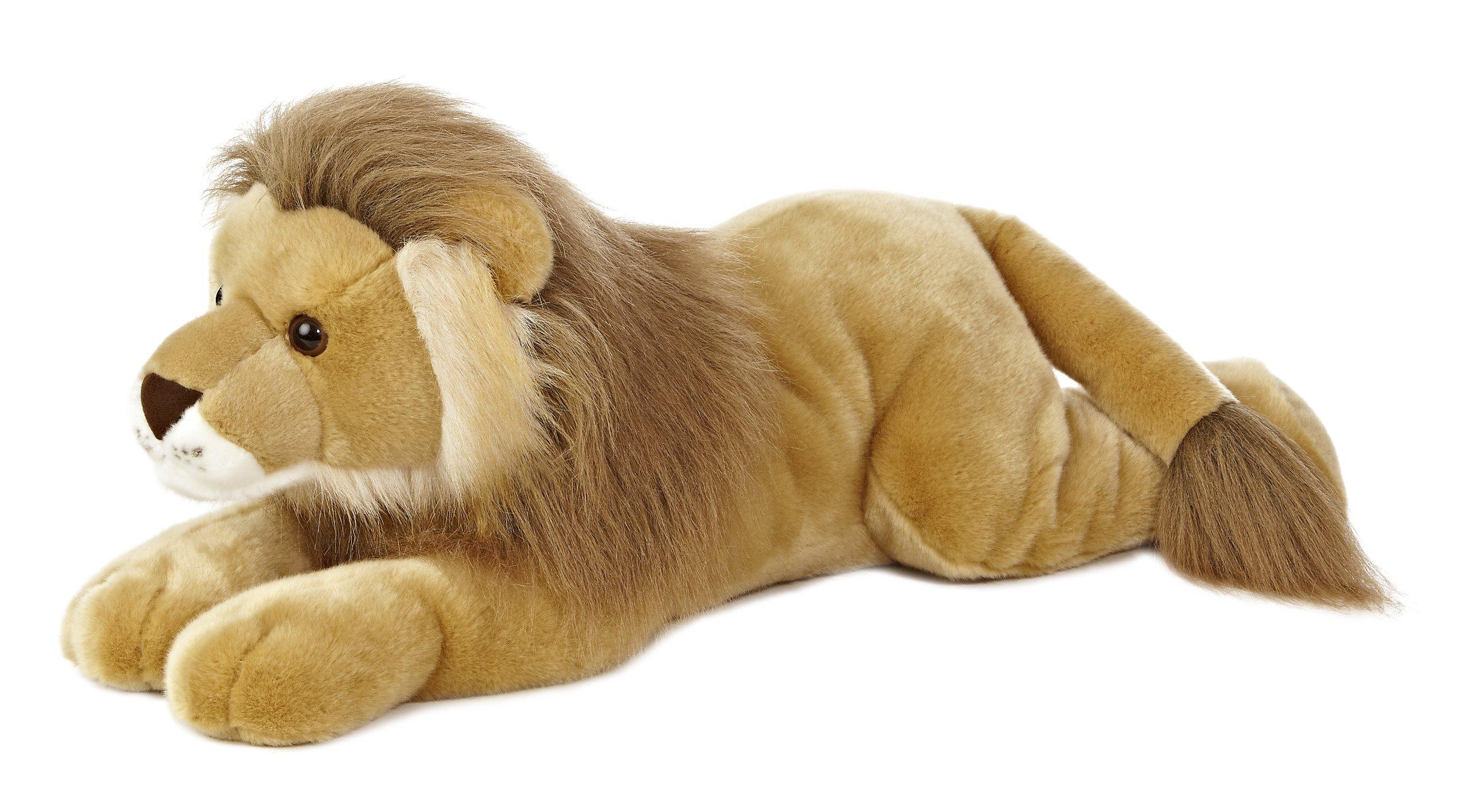 Aurora World Super Flopsie Leo Lion Plush, 27'' Long by Aurora