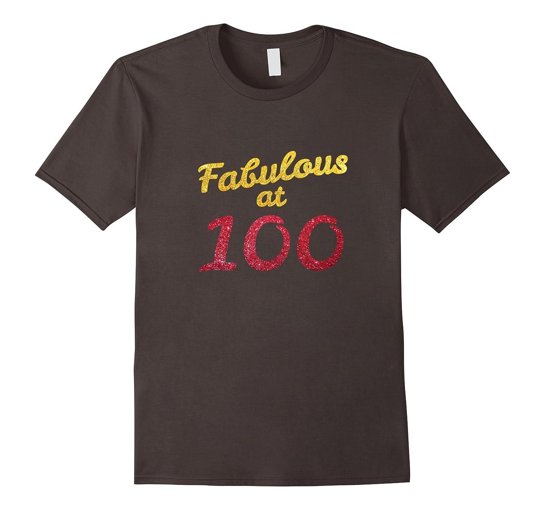 100th Birthday Shirt Cute 100 Year Old Gift Tshirt Men Women-FL
