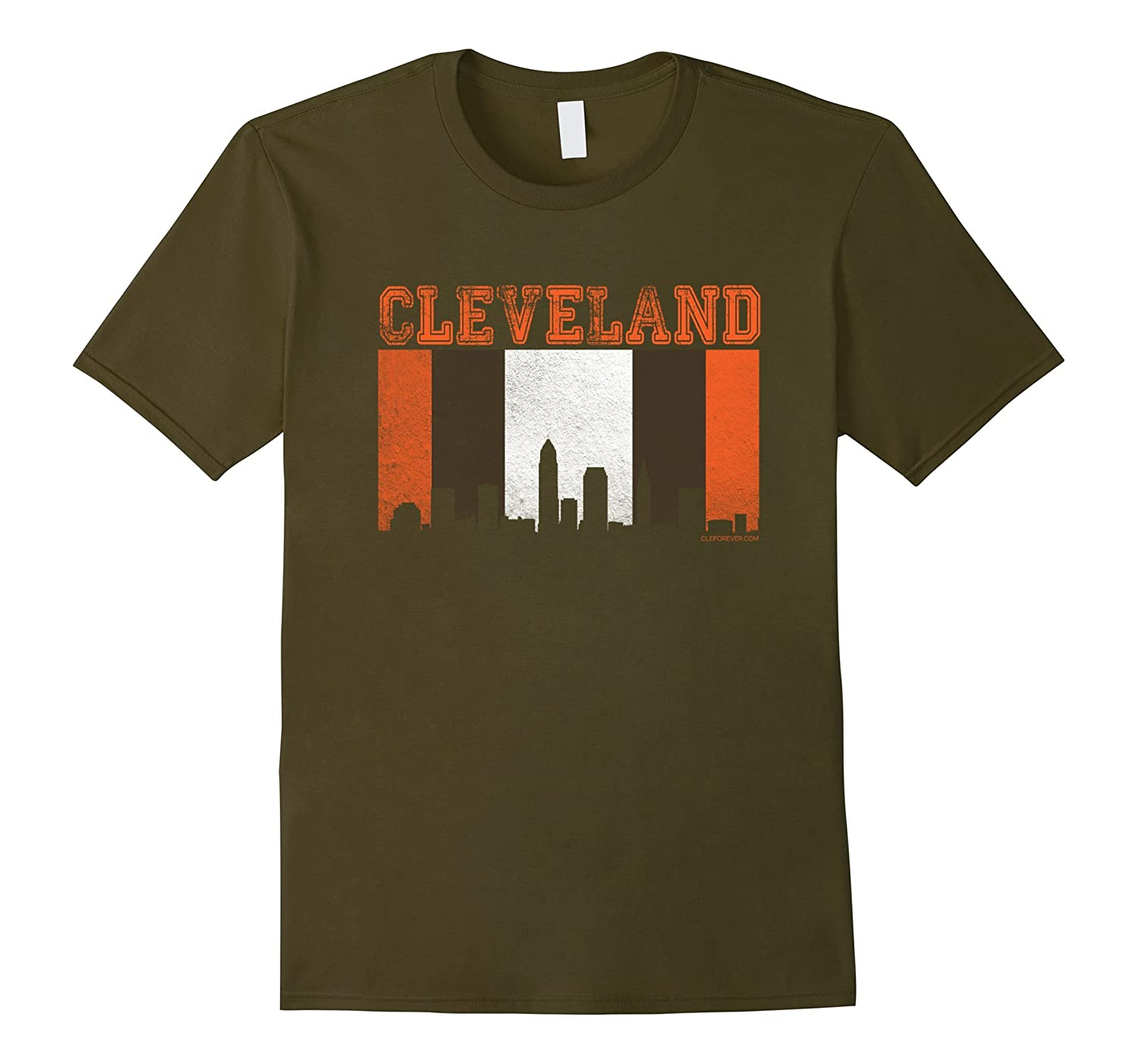 Cleveland Shirt Sports and Skyline-BN