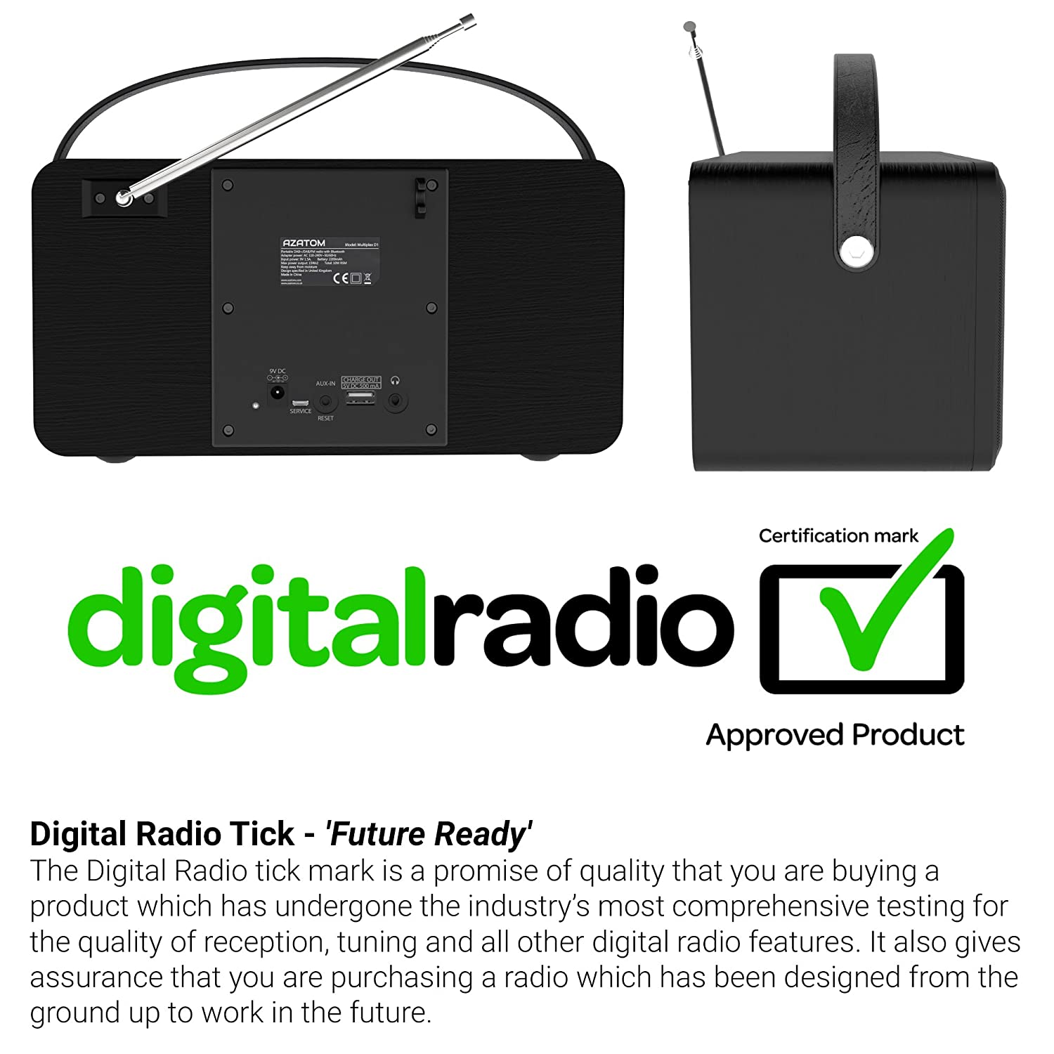 digital radio the sound of Frq - fm frequency in megahertz - am frequency in kilohertz: call - official call letters,  non commercial station: market - station's target market.