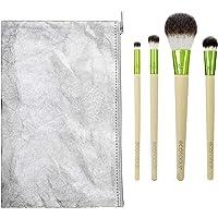 EcoTools Holiday Vibes Makeup Brush Gift Set with Travel Brush Bag, Set of 6
