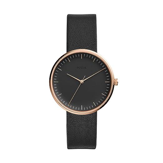 f0026dea210c Fossil ES4510 The Essentialist para Mujer  Amazon.es  Relojes