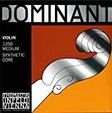 Thomastik-Infeld 135B Dominant Violin Strings, Complete Set, 135B, 4/4 Size, With Chrome Steel Ball End E String