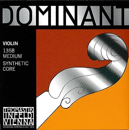 17 opinioni per Dominant Strings 135B- Set corde per violino 4/4
