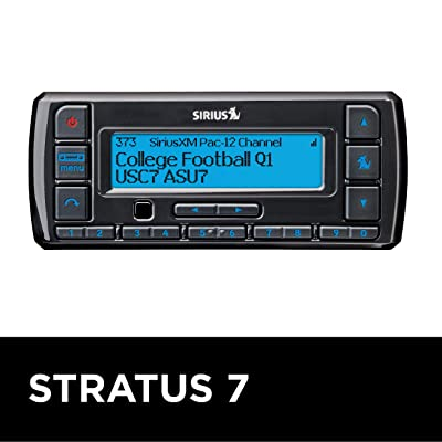 SiriusXM Stratus 7 Satellite Radio with Vehicle Kit | 3 MONTHS ALL ACCESS FREE WITH SUBSCRIPTION: Car Electronics