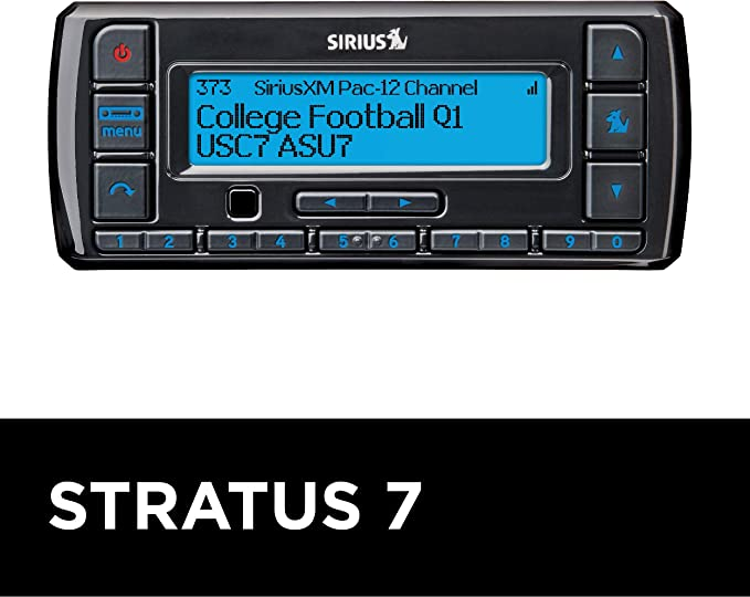 Amazon Com Siriusxm Stratus 7 Satellite Radio With Vehicle Kit 3 Months All Access Free With Subscription Car Electronics