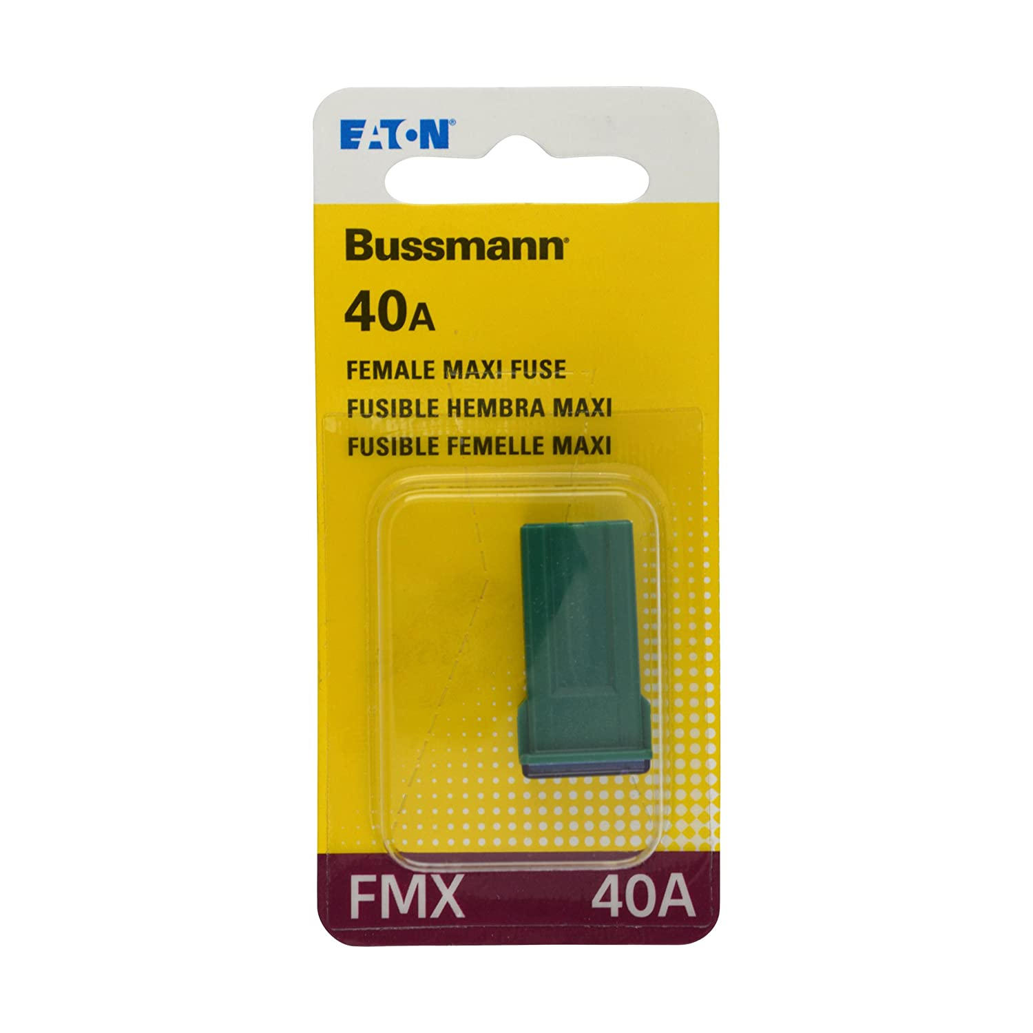 Bussmann Bp Fmx 40 Rp Green Amp Female Maxi Fuse Fuses Installed Wiring Harness Amazon Canada