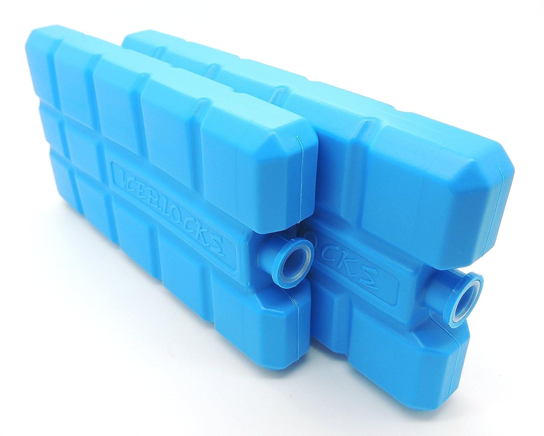 NEMT Kühlakkus Kühlelemente für Kühltasche oder Kühlbox je 200ml 12 h Kühlpack