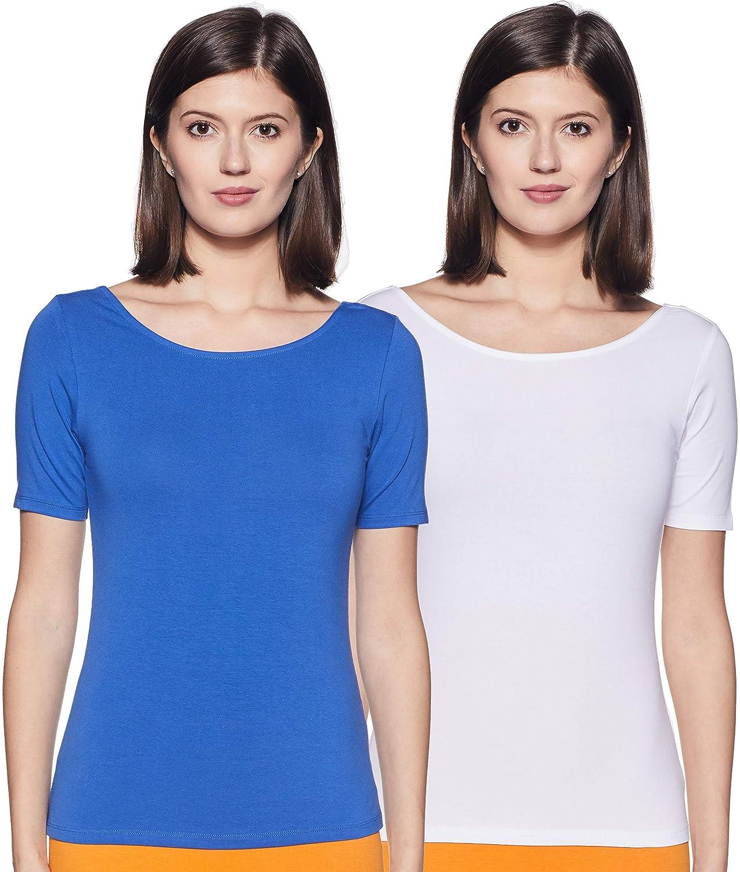 Amazon Brand – Symbol Women's Slim Fit T-Shirt