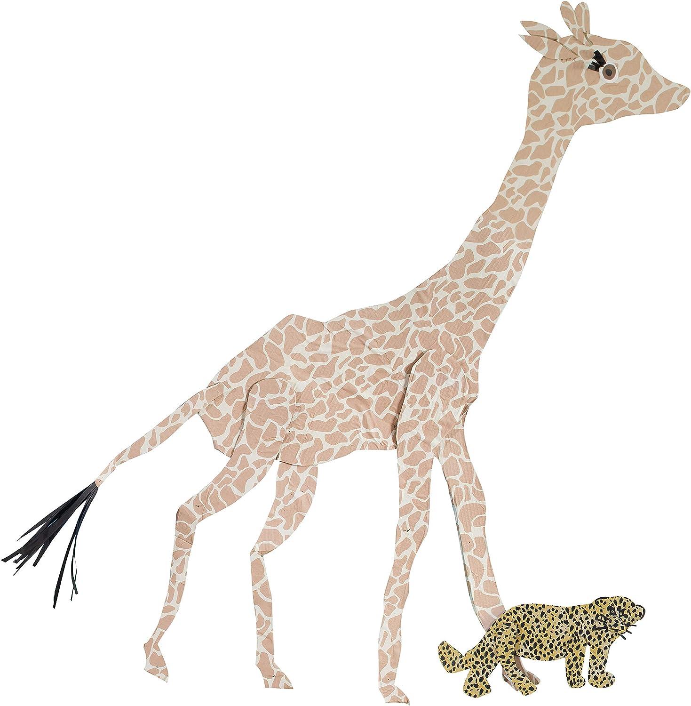 56920 2-Feet by 8-Feet Rolls Pacon Fadeless Safari Prints Art Paper 6 Assorted Designs