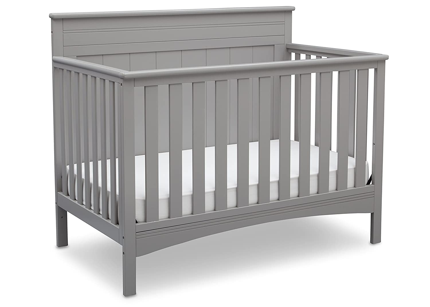 Baby Crib Mattress Critiques Amazon.com : Delta Children Fancy 4-in-1 Convertible Baby Crib, Grey : Baby