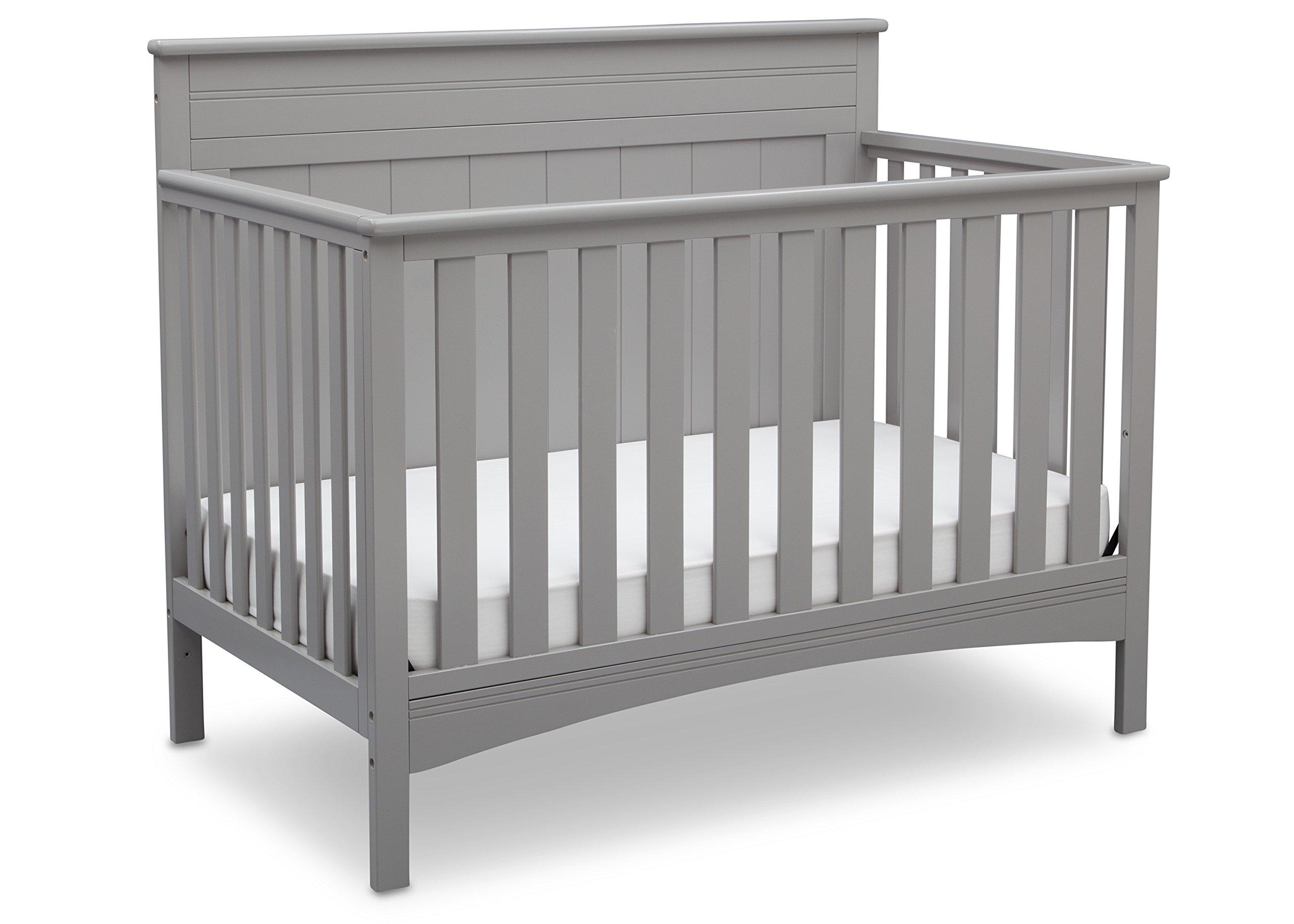 Delta Children Fancy 4-in-1 Crib, Grey