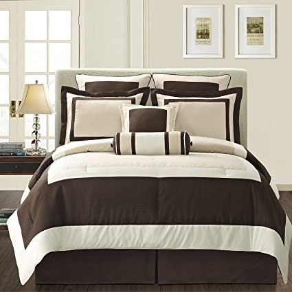 5105b5af5c8dc Image Unavailable. Image not available for. Color  Fashion Street Gramercy 8 -Piece Comforter Set