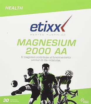 Etixx Magnesium 2000 AA - 30 Comprimidos efervescentes: Amazon.es: Salud y cuidado personal