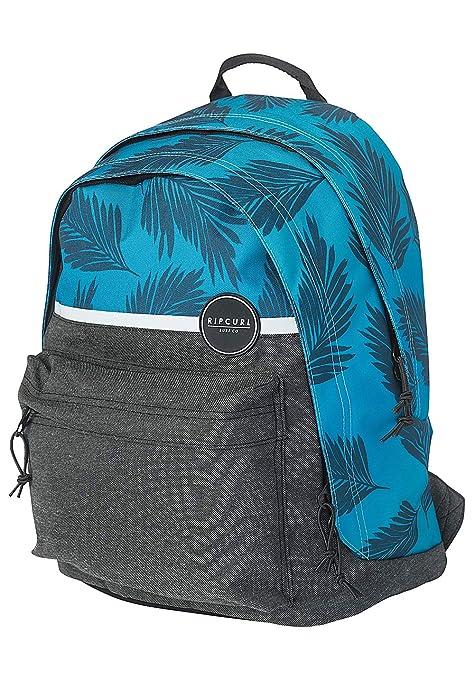 Rip Curl - Mochila Escolar de Doble cúpula (43 cm), Color Azul