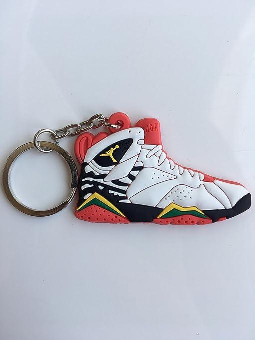 f6f690d2869 Amazon.com : Jordan Retro 7 Premio Bin 23 Sneaker Keychain Shoes Keyring AJ  23 OG : Sports & Outdoors