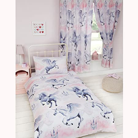 Stardust Unicorn Junior Toddler Cot Bed Duvet Cover And Pillowcase