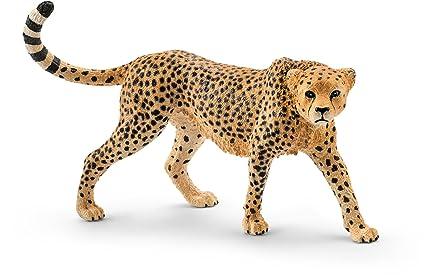 amazon com schleich africa female cheetah toy figure schleich
