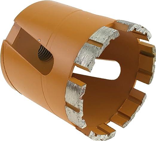 Hohl-Bohrkrone 68mm in Profi-Qualit/ät Diamant-Dosensenker 68mm mit M16 sechskant Adapter Putz uvm Stein Dosenbohrer 68mm perfekt f/ür Steckdosen geeignet Bohrkrone 68mm f/ür Mauerwerk Ziegel