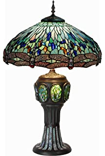 Meyda tiffany 31112 tiffany hanginghead dragonfly collection 3 cloud mountain 3325 height luxury tiffany style dragonfly table lamp with zinc base aloadofball Gallery