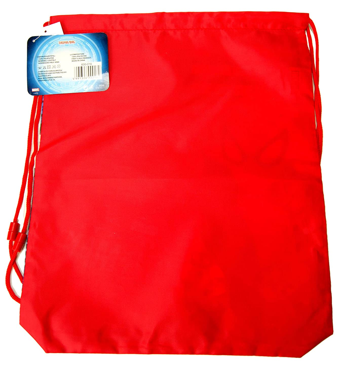 Spiderman Drawstring Bag,Sport Bag,Gym Bag,Swimming Bag Official Licensed 40cm