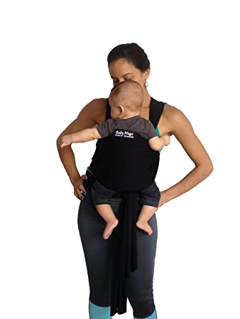 Amazon Com Babyhug Baby Sling Carrier Natural Cotton Nursing Baby