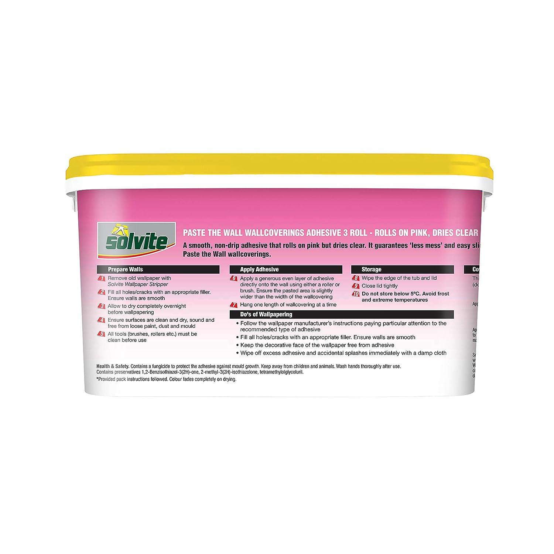 rosa Solvite 2029424 5-Roll pasta la pared ready-MIX