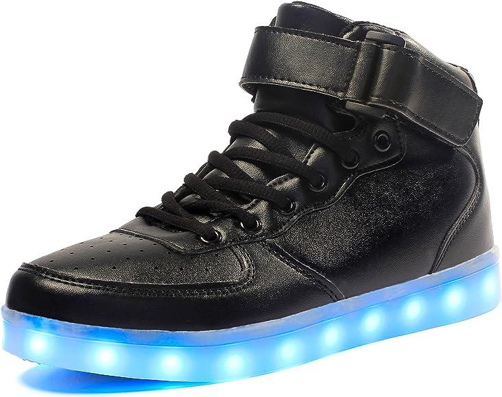 Voovix Kids LED Light Up Shoes USB