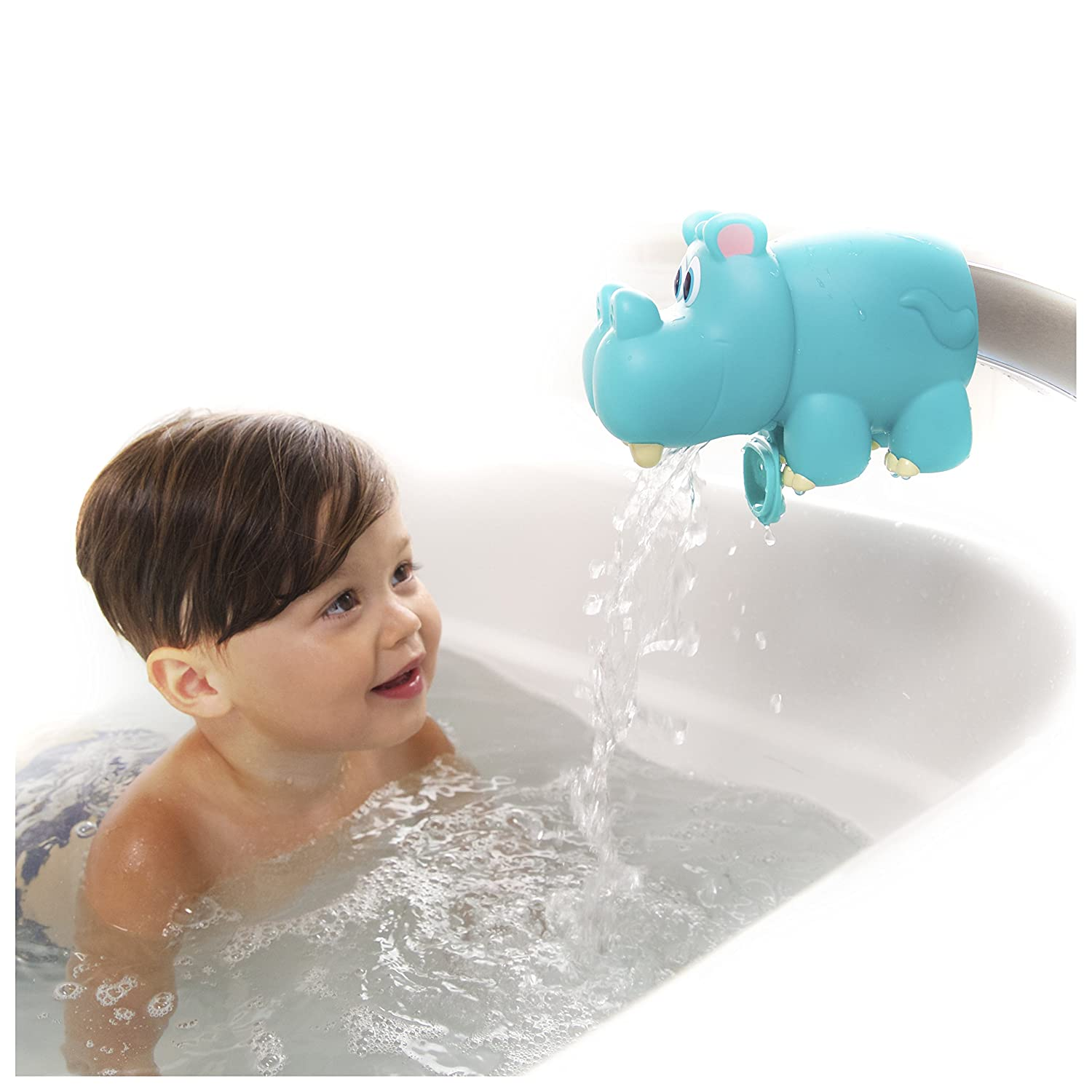 Nuby Hippo Water Spout Guard, Blue: Nuby: Amazon.ca: Toys & Games