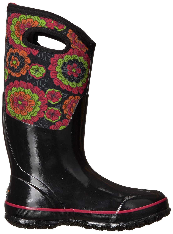 Bogs Ladies Classic Pansies schwarz Insulated Warm Waterproof Wellies Boot Boot Wellies 72117-UK 9 (EU 43) - 28c4ee